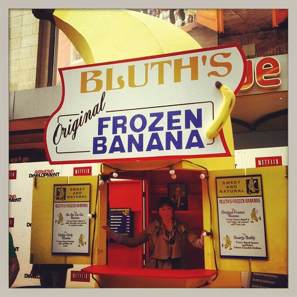 Bluth's OG Frozen Bananas (at Vue)