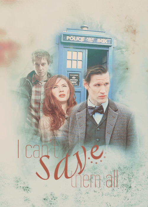 thefuckinggreatestblog:  The Doctor & The Ponds