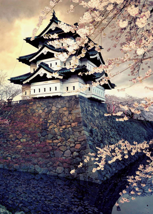 Hirosaki Castle by Glenn Waters