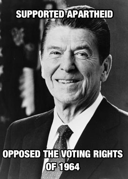 odinsblog:  Ronald Reagan and Racial Politics: What Republicans Won't Admit About Their False Idol (A Comprehensive List)   Read More  h/t ReaganAndRacism