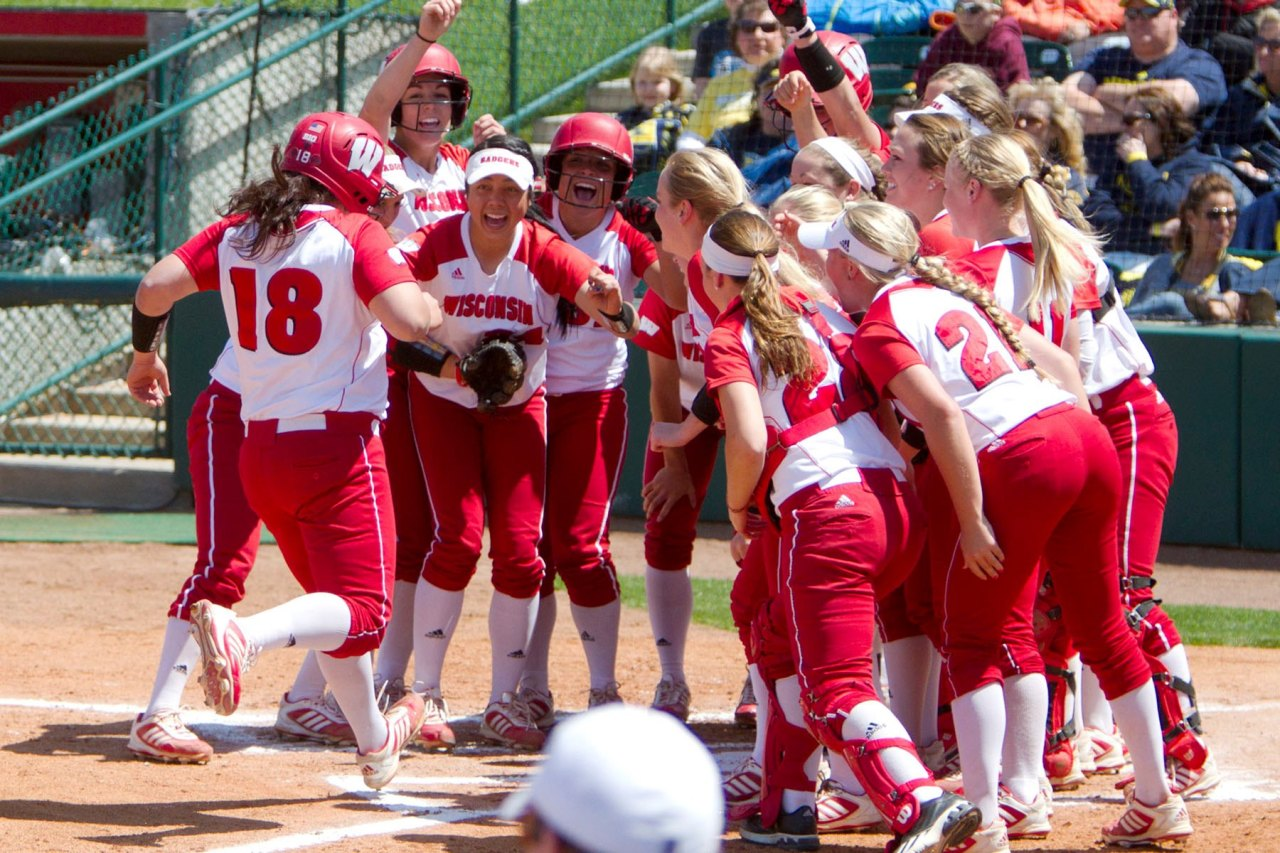 profastpitch:  So Proud of the Wisconsin Badgers softball team for winning their first Big 10 Championship!