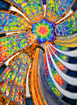 "paintmyworldrainbow:  ""Sagrada Familia, Barcelona Spain"" My original watercolor painting on aquabord Click through to buy a signed, numbered limited edition print"