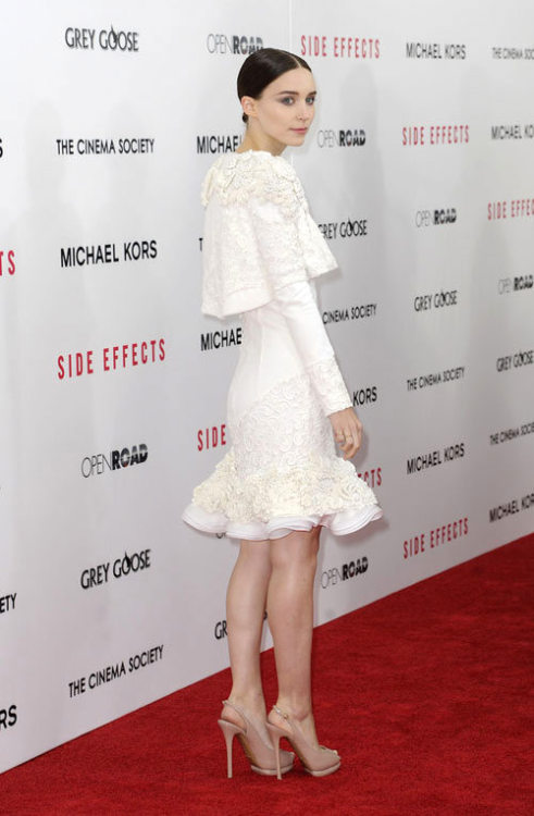 hipsterical:  Rooney Mara should wear McQueen more often