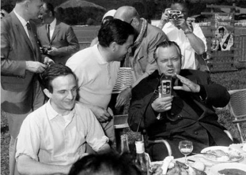 Truffaut and Welles | Cannes 1966