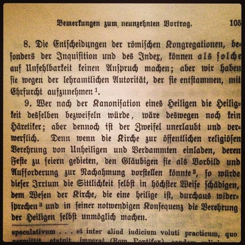 I still think paragraph 8 is bunk… #augsburg #german #herder&co #antiquarian #mylibrary #mislibros #books  (at Penn Square Condos)