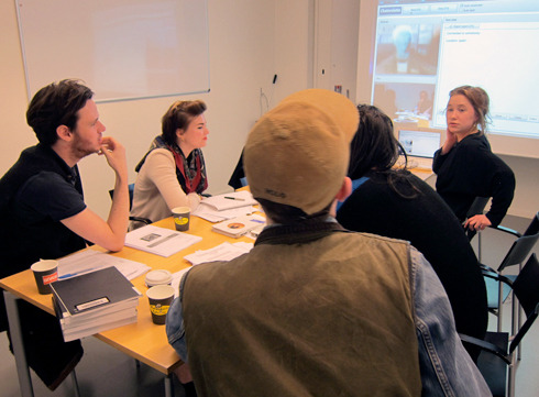 In Stockholm this spring I taught a course about the online image at the art school Konstfack. Some readings from our syllabus: Vilém Flusser 'The Photograph as Post-Industrial Object' (1986); Seth Price 'Dispersion' (2002); Hito Steyerl 'In Defense of the Poor Image' (2009); Peter Osborne 'Infinite Exchange: Social Ontology of the Photographic Image' (2010); Artie Vierkant 'The Image-Object Post-Internet' (2010); Florian Schneider 'Theses on the Concept of Digitial Simulacrum' (2011). Engaging closely with these texts and numerous artworks and websites, with some great students, we worked towards articulating a yet-unwritten history, philosophy and politics of the online image. The course finished up with the students developing some compelling ideas for artistic projects inside this framework. The course was part of the larger, ongoing research project 'Towards A History, A Politics, A Philosophy Of The Online Image'. Read more about that here.