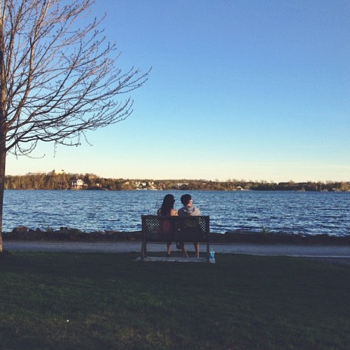 Find momo in young love's atmosphere. (at Bell Park)