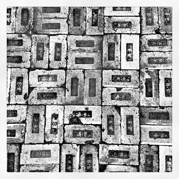 jeffnemo:  #sidewalk #pattern (at Point Fermin Park)