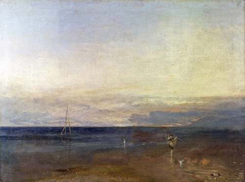 JMW Turner's The Evening Star, c1830 (via Victorian British Painting)