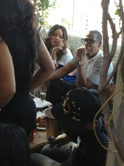 Rihanna x Jay Z inside the 2013 Roc Nation Pre-Grammy Brunch!