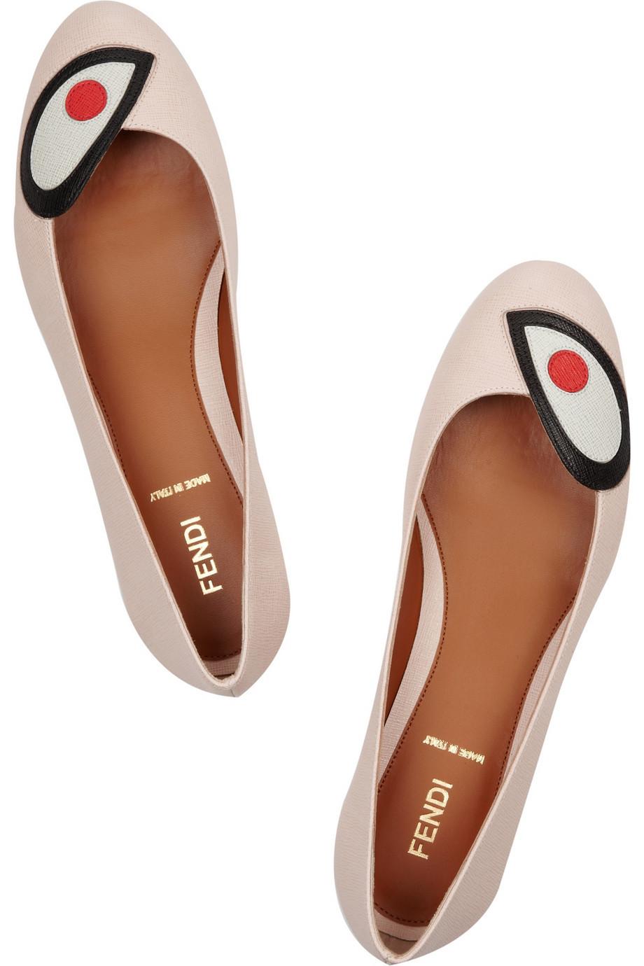 shoelust:  Fendi Cartoon Eye flats