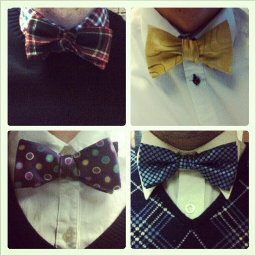 #bowties in the #office today  #Thursday #theme #themeday #fashion #fun #geekchic #tomorrowisfriday