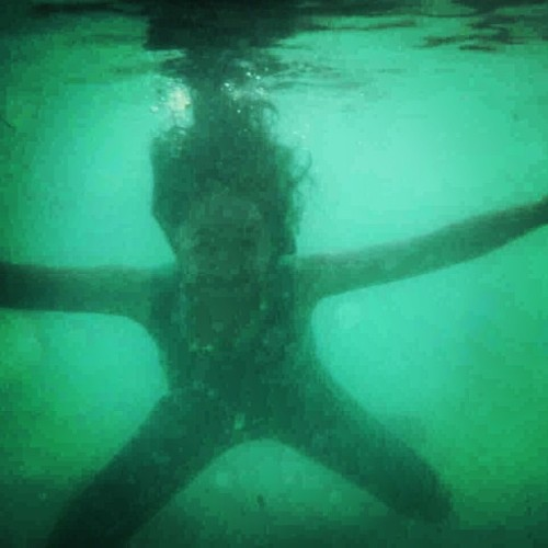Me starfish 😁😁#underwater #green #beach #beautiful #giliterawangan #lombok #lowfi #holiday #trip