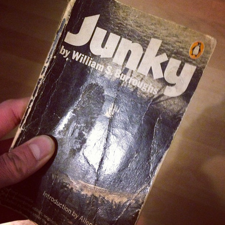 Thrift shop find: FIrst edition of William S. Burroughs  - Junky