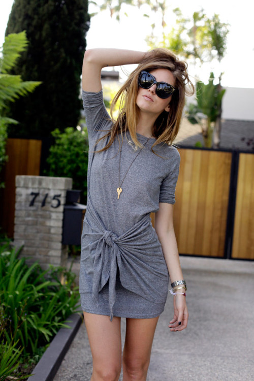 5thave-nue:  the—one:  what-do-i-wear:  MINUSEY DRESS  (image: theblondesalad)  Inspiration? here x