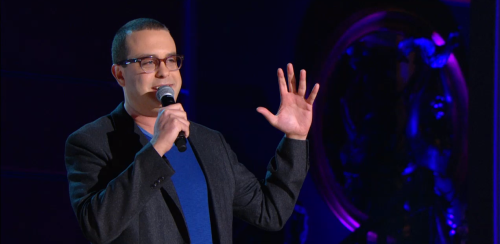 "Ask a Professional Comedian: Joe DeRosa Anonymous asked you:Joe: If you weren't doing stand-up, what would your dream job be? Like all stand-ups, my other dream job would be musician.   Anonymous asked you:Joe: What is the longest set that you have ever done? When I recorded my new album ""Never Believe"" I did about an hour and twenty minutes. Hopefully that wasn't too long. I guess we'll find out when it gets released.    Anonymous asked you:Joe DeRosa, who is your favorite comic of all time? George Carlin. The first time I ever saw him I was 12 and he was performing on HBO. The special was called ""Doin' It Again"" and it was amazing. I couldn't believe there was a job where you could get on stage and tell a room full of people your opinions. I was hooked on George Carlin and comedy from there on out. Anonymous asked you:Question for Joe Derosa. What's your favorite place to work? Philadelphia. It's home, so it'll always be the best. - - - Joe DeRosa's Half Hour special premieres tonight at 12:30a/11:30c, but right now he's answering your questions here on our Tumblr. Submit them here."