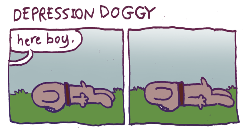 depression doggy