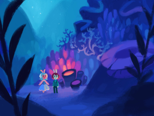 gigidigi:  The Cucumber Quest Book Two Kickstarter is live! Please check it out if you like cute bunny comics!