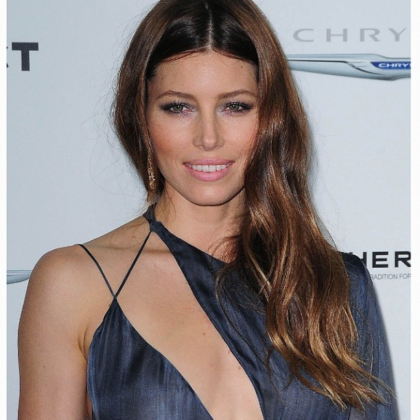 JB looking stunning in Versace #JessicaBiel #actress #fashion #tumblr