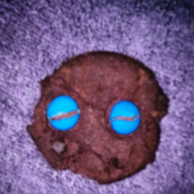 This cookie is upset about something.