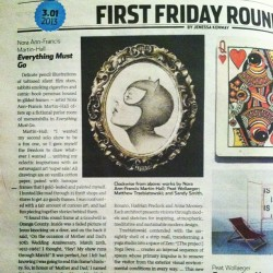 Sooooo stoked. Got an awesome write up in Las Vegas City Life! Stop by 303 North Studio for first Friday and say hiiii!