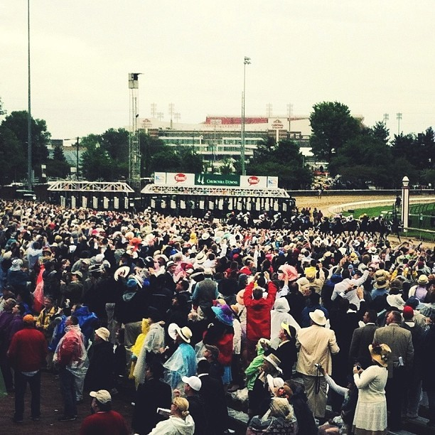 The First Saturday in May (02) // #kentuckyderby #kyderby #startinggate #derbyme  (at Churchill Downs)