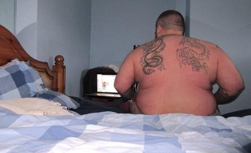 truckerbearjackie:Big sexy boy Benjaminno no no!!! me acabo de morir muerto!!!es un sueño hecho fotos en tumblr :P