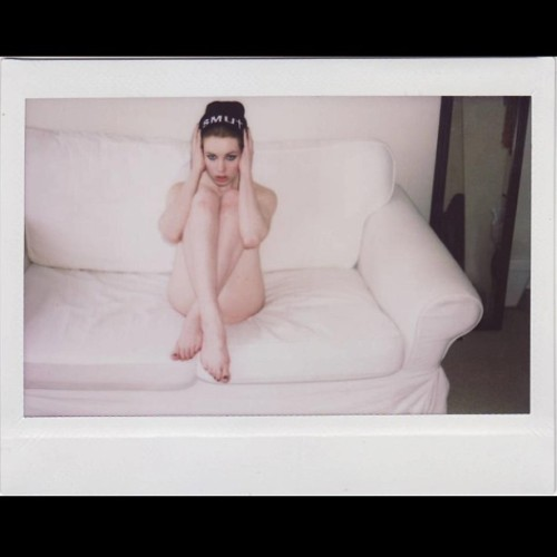 @fawyafrolic by me #smutclothing #photography #polaroid #instax #model #beanie