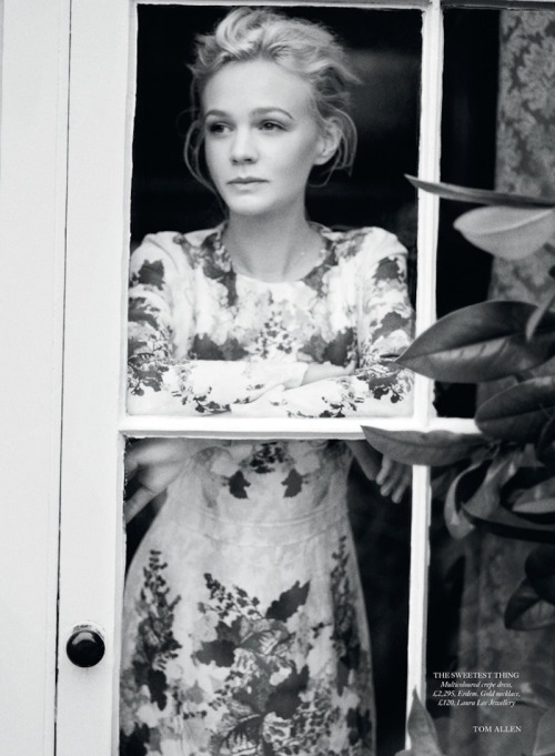 50shadesofgray:  bohemea:  Carey Mulligan - Bazaar UK by Tom Allen, June 2013   Daisy Miller was a flirt—a pretty American flirt.