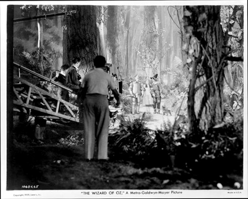 peplumandpatina:  Behind the scenes - Wizard of Oz