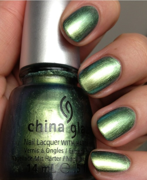 becktasm:  China Glaze Unpredicatable