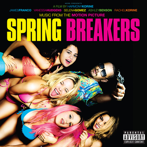 The SPRING BREAKERS soundtrack is streaming online and I have your access thanks to Pitchfork! One of my faves SKRILLEX produced the original score for the movie which boasts other notables such as: WAKA FLOCKA FLAME, Gucci Mane & RICK ROSS! Get over to Pitchfork NOW to check out the movies soundtrack! xo @rozOonThego