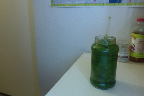 aisha-mh:  2 cups of spinach  1/2 cup of blueberries  1 cup of cucumbers