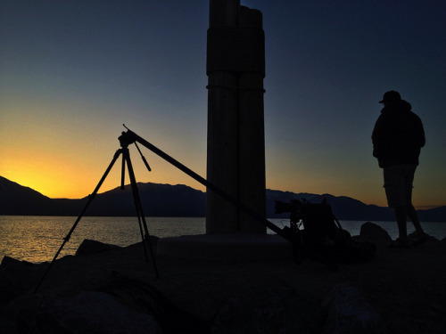 Timelapse morning at Utah Lake on Flickr. Sometimes all we want are some clouds.