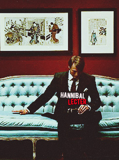 Scenes from Hannibal.        Bryan Fuller's procedural television adaptation of Thomas Harris' titular character is a delectably delicious. Mads Mikkelsen and Hugh Dancy star as Dr. Lecter and Will Graham, respectively, portraying an alternate story to Red Dragon. It's an eerily compelling and gripping show with engaging character work, a deliberate pace, and splendid production value.