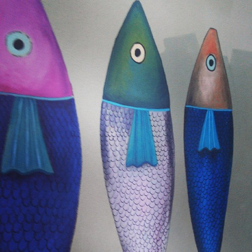Wall Art At Churchpoint #art #fish #painting