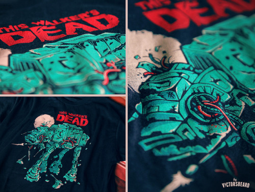 Got my Walker's Dead t-shirt from RIPT! thank you guys :) absolutely awesome printing! In case you missed the Riptapparel sale, it's still available on my Society6 and Redbubble shops.