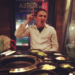 Jonald takes Koreatown.  (at Miss Korea BBQ)