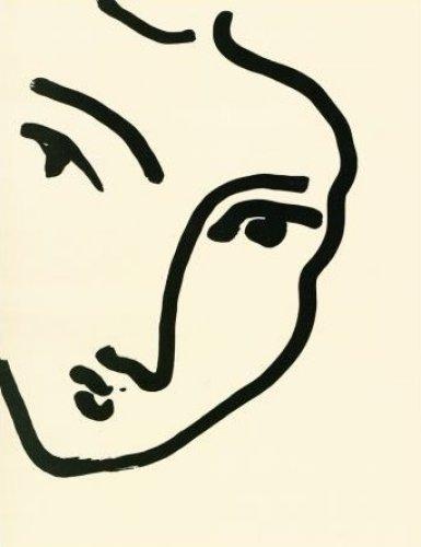 Femme II (Nadia au menton) Henri Matisse