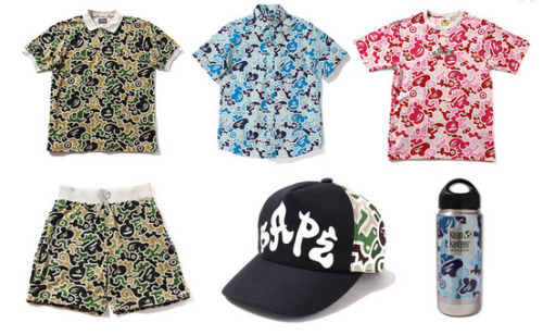 "New ""Hieroglyph Camo"" from A Bathing Ape."