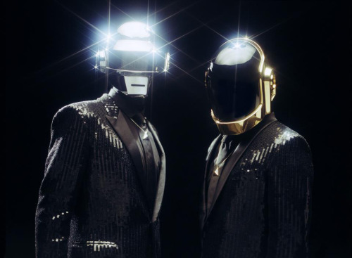 "Daft Punk talk with The Guardian about their forthcoming new LP and address the ""complacency"" in today's EDM world.  ""Today, electronic music is made in airports and hotel rooms, by DJs traveling,"" Bangalter said. ""It has a sense of movement, maybe, but it's not the same vibe as going into these studios that contain specific things … You hear a song – whose track is it? There's no signature."" ""EDM is in its comfort zone. It's not moving one inch. That's not what artists are supposed to do.""  Daft Punk ""Random Access Memories"" will be available on May 12.  (source)"