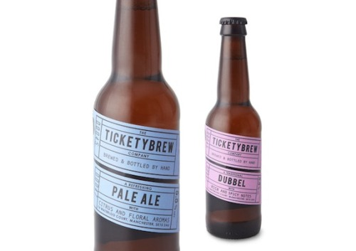 Heading into the weekend: Some beer branding we can get behind. Ticketybrew has an interesting origin story too, find out more about 'em.