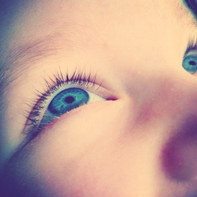 Blue Eyes. #petitemissCharline