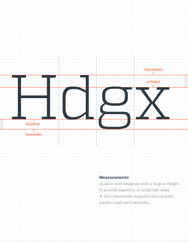 betype:  Quadon Typefamily A beautiful and modern slab serif have arrived: Quadon a complete family of a beautiful and flexible typeface that you can use for headers, a display font or a paragraph. Rene Bieder show us the many ways you can use this font. You can buy this font in in Myfonts (Myfonts also have tumblr in case you didn't know ) by a special price: http://www.myfonts.com/fonts/rene-bieder/quadon/