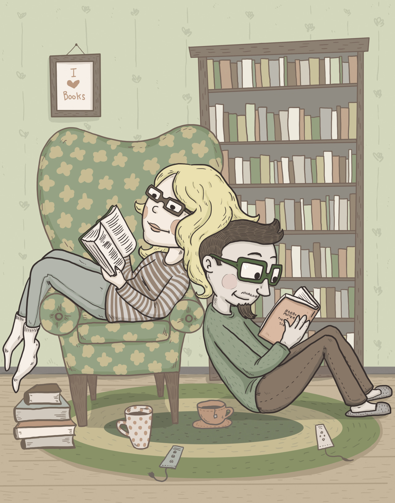 lawsonmuck:  It's summer time kids! Time to sit indoors and read.