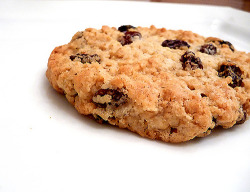 Chewy Oatmeal-Raisin Cookies by Brown Eyed Baker on Flickr.