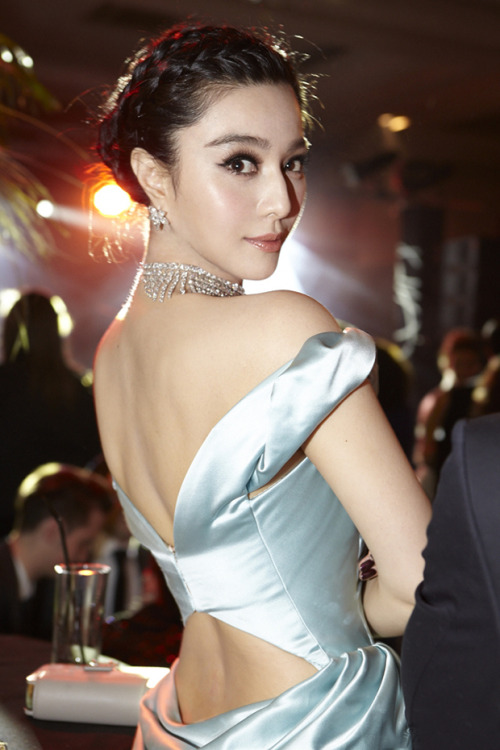Fan Bingbing in Ulyana Sergeenko Couture at the Trophée Chopard Party during the Cannes Film Festival, May 17th 2013