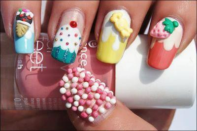 Food Nails | via Tumblr on We Heart It. http://weheartit.com/entry/61870238