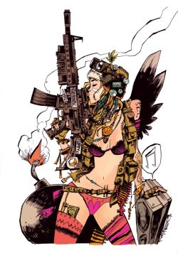 suicideblonde:  Tank Girl