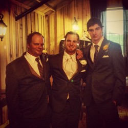 @reediculous89, Chase and I looking spiffy.